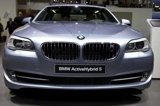 2012 BMW ActiveHybrid 5: Detroit Auto Show featured image large thumb1