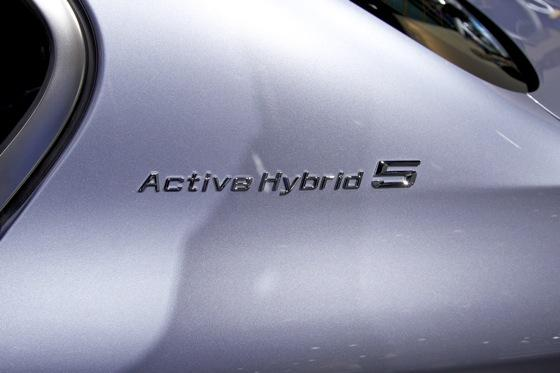 2012 BMW ActiveHybrid 5: Detroit Auto Show featured image large thumb4