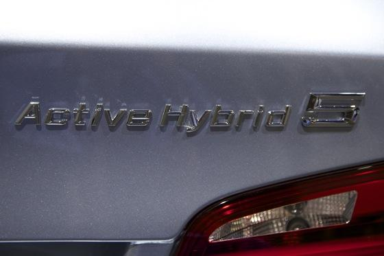 2012 BMW ActiveHybrid 5: Detroit Auto Show featured image large thumb5