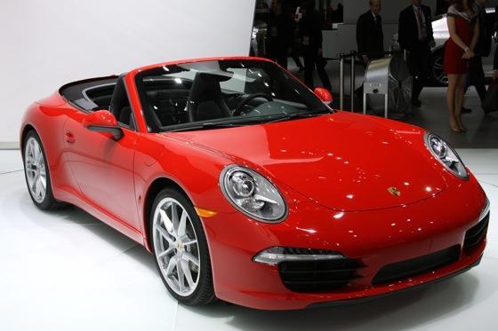 2012 Porsche 911 Cabriolet: Detroit Auto Show featured image large thumb0