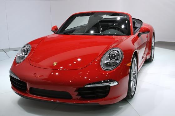 2012 Porsche 911 Cabriolet: Detroit Auto Show featured image large thumb1