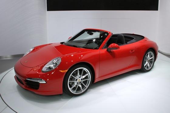2012 Porsche 911 Cabriolet: Detroit Auto Show featured image large thumb2