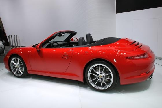 2012 Porsche 911 Cabriolet: Detroit Auto Show featured image large thumb4