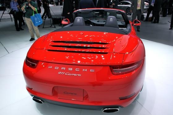 2012 Porsche 911 Cabriolet: Detroit Auto Show featured image large thumb5