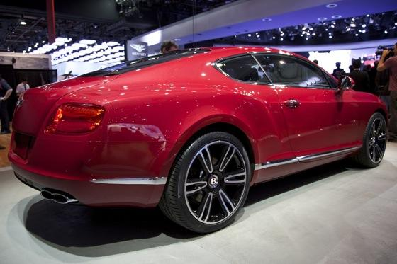 2013 Bentley Continental GT V8: Detroit Auto Show featured image large thumb3