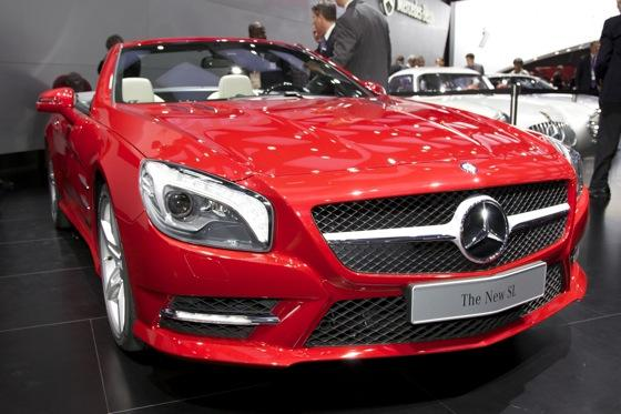 2013 Mercedes SL-Class: Detroit Auto Show featured image large thumb0