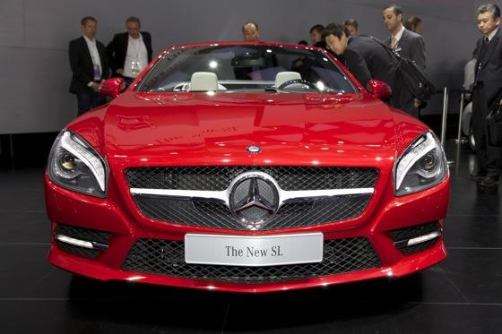 2013 Mercedes SL-Class: Detroit Auto Show featured image large thumb1