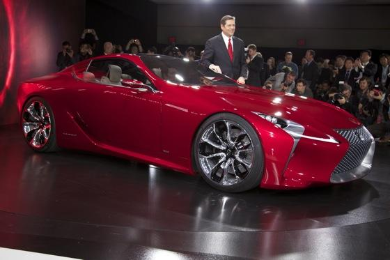Lexus LF-LC Concept: Detroit Auto Show featured image large thumb0