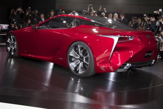 Lexus LF-LC Concept: Detroit Auto Show featured image large thumb2