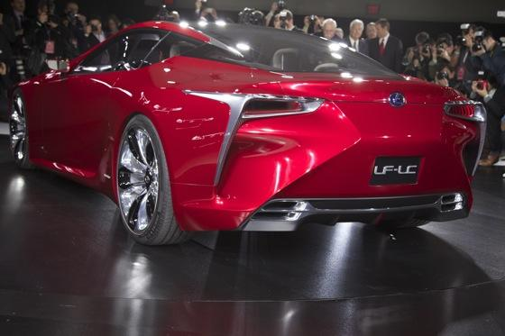 Lexus LF-LC Concept: Detroit Auto Show featured image large thumb3
