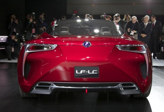 Lexus LF-LC Concept: Detroit Auto Show featured image large thumb4
