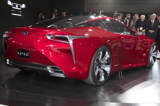 Lexus LF-LC Concept: Detroit Auto Show featured image large thumb5
