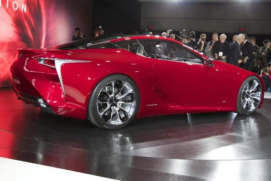 Lexus LF-LC Concept: Detroit Auto Show featured image large thumb6