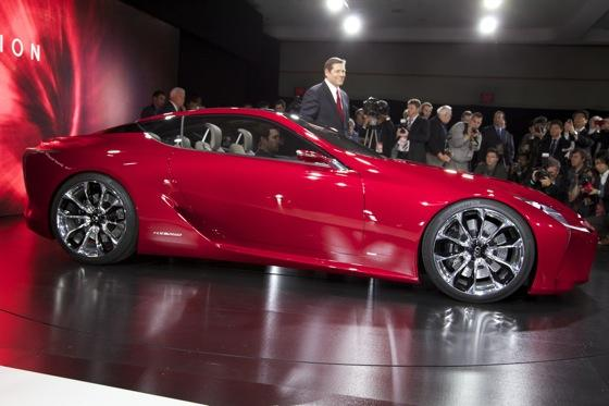 Lexus LF-LC Concept: Detroit Auto Show featured image large thumb9