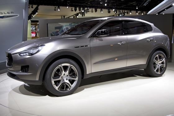 Maserati Kubang Concept: Detroit Auto Show featured image large thumb0