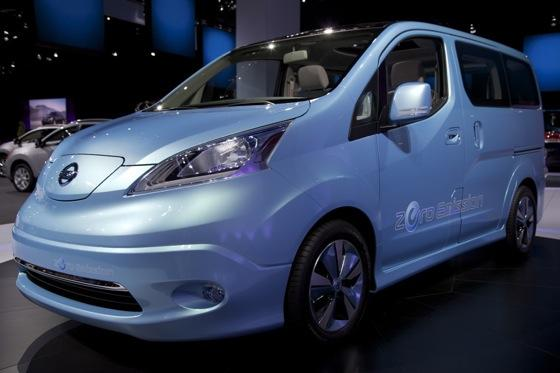 Nissan E-NV200 Concept: Detroit Auto Show featured image large thumb0