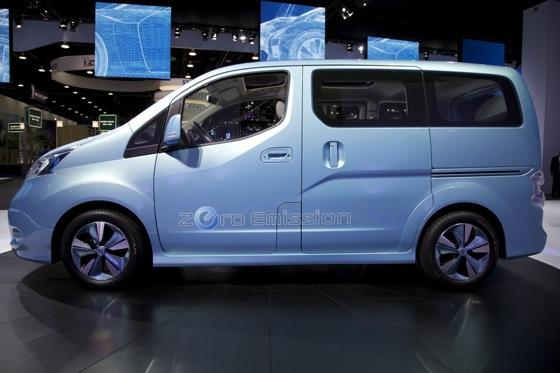 Nissan E-NV200 Concept: Detroit Auto Show featured image large thumb1