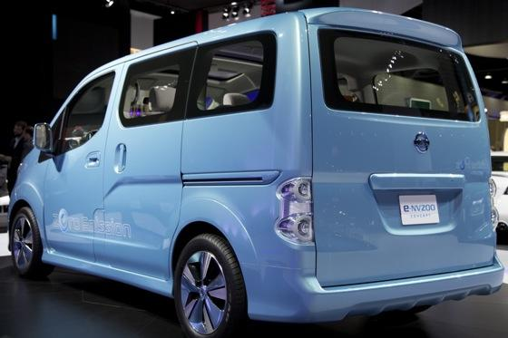 Nissan E-NV200 Concept: Detroit Auto Show featured image large thumb2