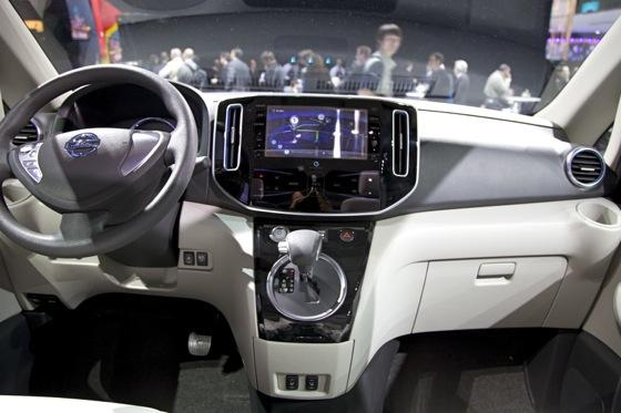 Nissan E-NV200 Concept: Detroit Auto Show featured image large thumb8