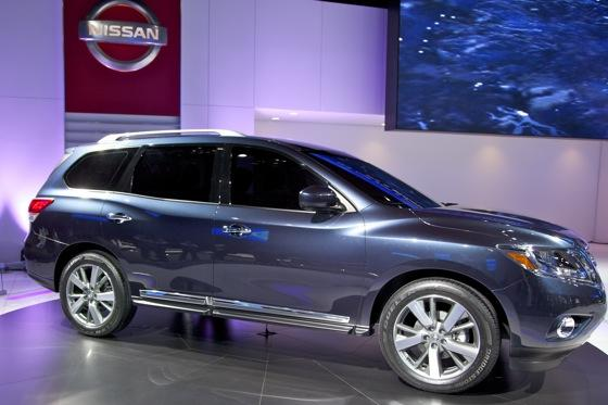 Nissan Pathfinder Concept: Detroit Auto Show featured image large thumb0
