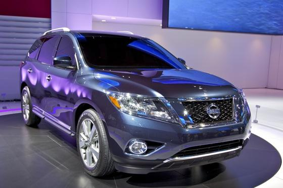Nissan Pathfinder Concept: Detroit Auto Show featured image large thumb2