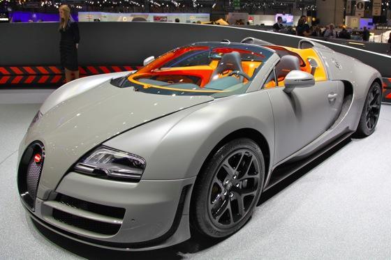 Bugatti Veyron 16.4 Grand Sport Vitesse: Geneva Auto Show featured image large thumb0