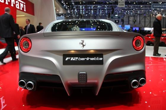 2013 Ferrari F12 Berlinetta: Geneva Auto Show featured image large thumb6
