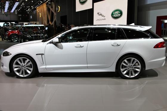 Jaguar XF Sportbrake: Geneva Auto Show featured image large thumb2