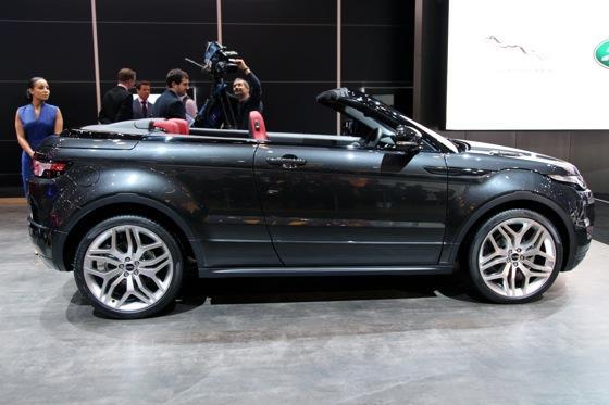 Land Rover Range Rover Evoque Convertible: Geneva Auto Show featured image large thumb1