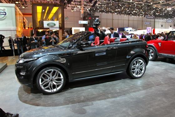 Land Rover Range Rover Evoque Convertible: Geneva Auto Show featured image large thumb2