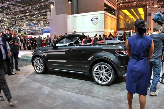Land Rover Range Rover Evoque Convertible: Geneva Auto Show featured image large thumb3