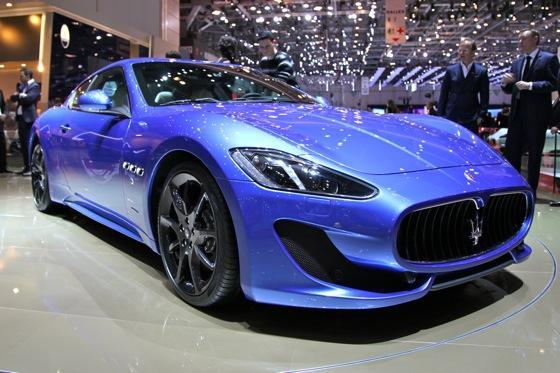 2013 Maserati GranTurismo Sport: Geneva Auto Show featured image large thumb0