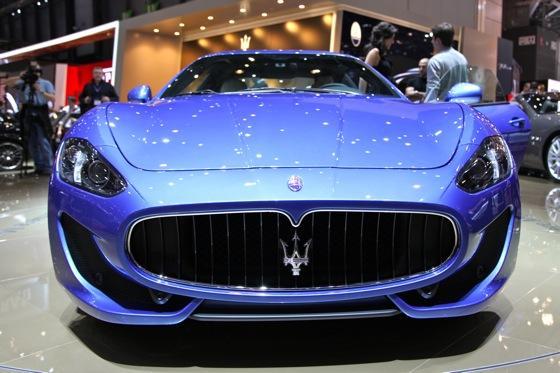 2013 Maserati GranTurismo Sport: Geneva Auto Show featured image large thumb1