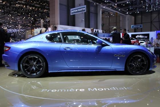 2013 Maserati GranTurismo Sport: Geneva Auto Show featured image large thumb2
