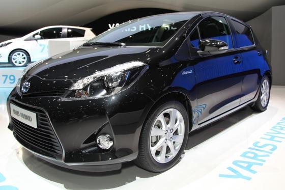 Toyota Yaris Hybrid Geneva Auto Show  Autotrader