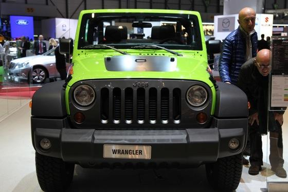 Jeep Wrangler Mountain: Geneva Auto Show featured image large thumb0