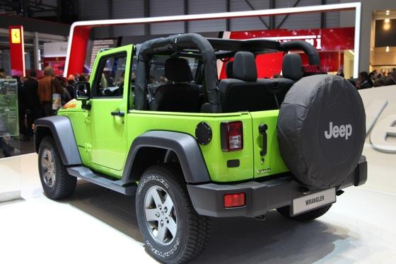 Jeep Wrangler Mountain: Geneva Auto Show featured image large thumb1