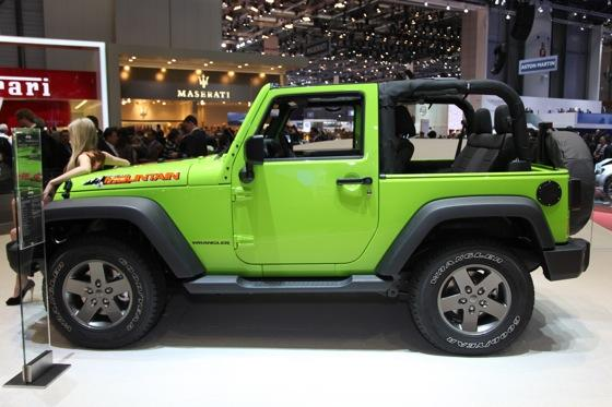 Jeep Wrangler Mountain: Geneva Auto Show featured image large thumb2