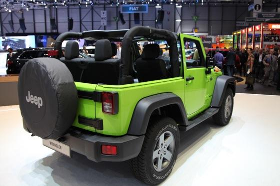 Jeep Wrangler Mountain: Geneva Auto Show featured image large thumb4