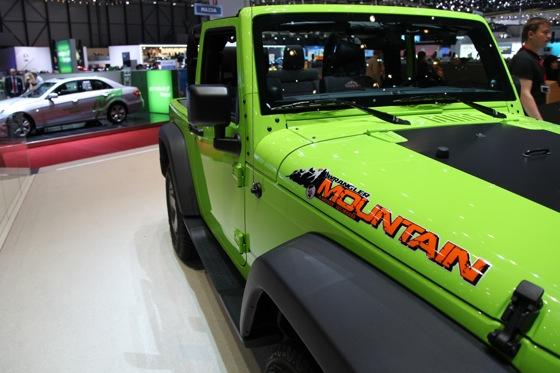 Jeep Wrangler Mountain: Geneva Auto Show featured image large thumb9