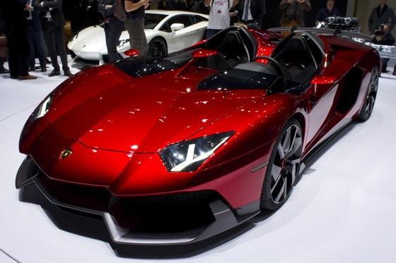 Lamborghini Aventador J: Geneva Auto Show featured image large thumb1