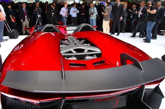 Lamborghini Aventador J: Geneva Auto Show featured image large thumb9