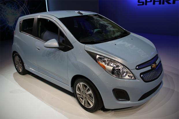 2014 Chevrolet Spark EV: LA Auto Show featured image large thumb1