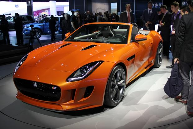 Jaguar F-Type & XFR-S Sedan: LA Auto Show featured image large thumb0