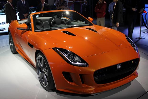 Jaguar F-Type & XFR-S Sedan: LA Auto Show featured image large thumb2