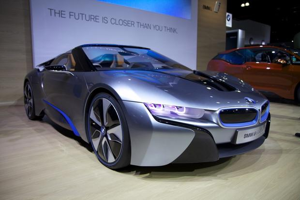 BMW i8 Spyder Concept: LA Auto Show featured image large thumb1