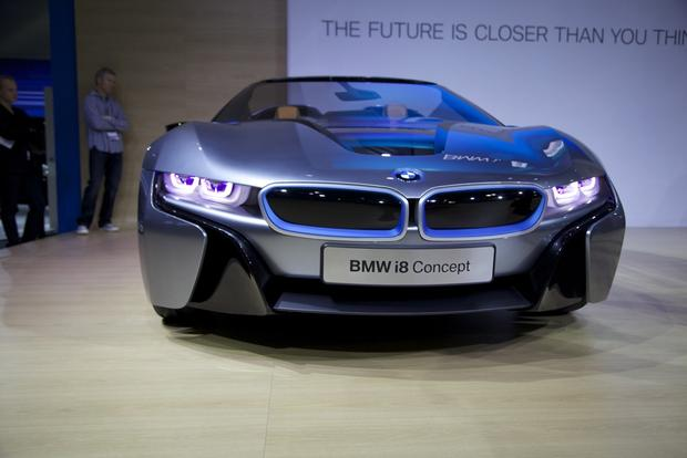 BMW i8 Spyder Concept: LA Auto Show featured image large thumb2