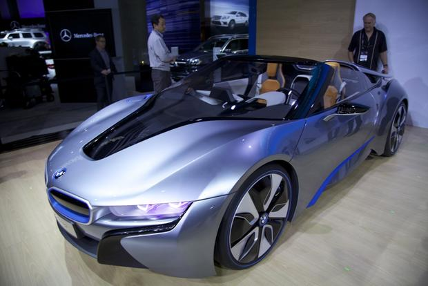 BMW i8 Spyder Concept: LA Auto Show featured image large thumb4