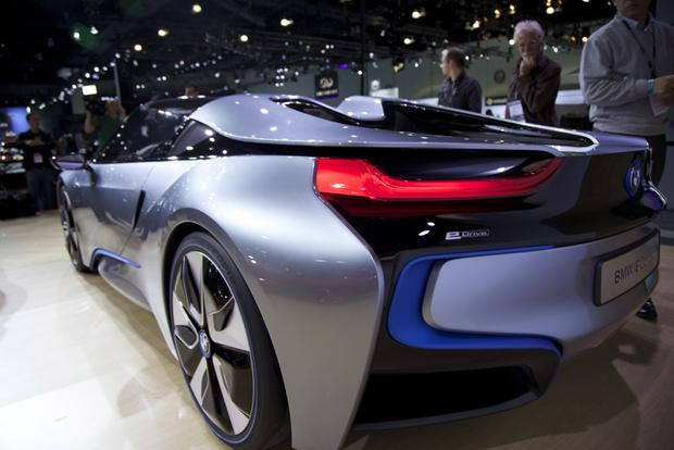 BMW i8 Spyder Concept: LA Auto Show featured image large thumb5