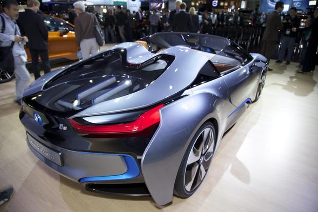 BMW i8 Spyder Concept: LA Auto Show featured image large thumb6